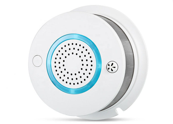 Gas Smoke Detector WIFI APP Remote Control 3V Battery Operated Smoke Alarm